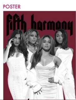 100% Official Fifth Harmony PSA Tour 2018 Poster