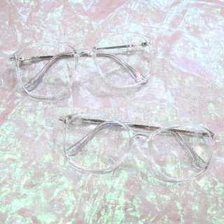 透明大方框造型中性眼鏡