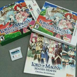 Nintendo 3ds game- lord of magna