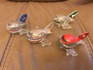 泰國玻璃飛機四隻