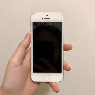 iPhone 5 16GB Silver 銀色
