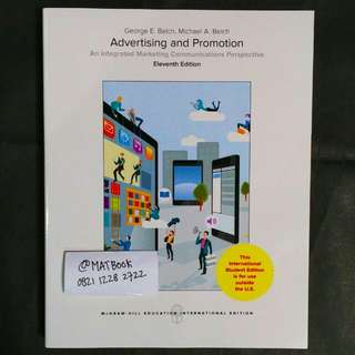 Advertising and Promotion 11ed