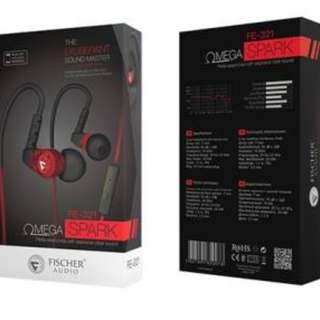 FISCHER AUDIO FE321 Omega Spark With 1 Year Local Warranty Selling @ S$78