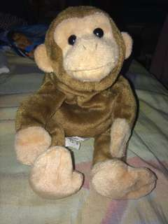 Brown monkey stuff toys (Rush) REPRICE