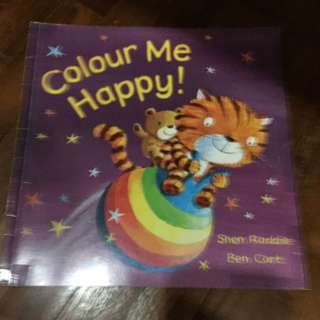 Pre-loved colour me happy book