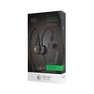 FISCHER AUDIO FE351 Omega Twin With 1 Year Local Warranty Selling @ S$98