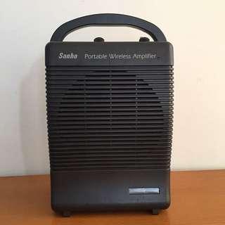 Portable wireless amplifier 手提擴音喇叭可以插咪