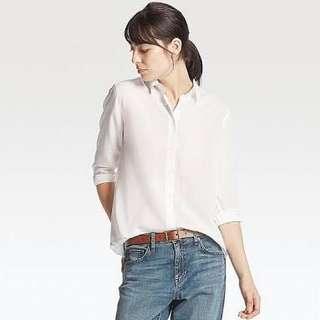 uniqlo rayon shirt