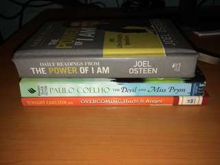 3 Books for 350 Php