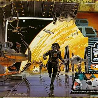 Starwars Action Fleet The Death Star Lord Vader's Fighter 星球大戰 死亡星 黑武士戰機