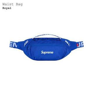 AUTHENTIC Supreme waist bag