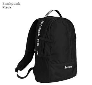 AUTHENTIC Supreme backpack