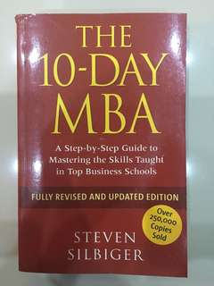 The 10 Days MBA