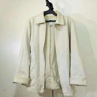 Gap cream jacket