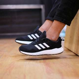 Adidas Fluidcloud Neutural Black White