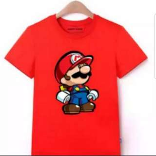 Super Mario Inspired Kids Tee