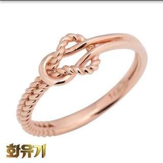 Mini gold Hwayugi Ring
