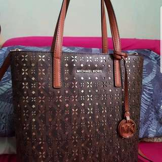 AUTHENTIC MICHAEL KORS HAYLEY NORTH SOUTH TOTE