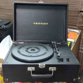 Record Player by Crosley (Black)