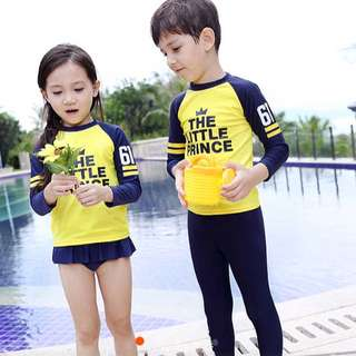 Ready Stock🌸boy & Girl Swimwear Set
