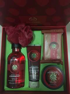 The body shop special strawberry edition