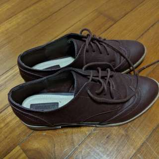 F21 oxford shoes