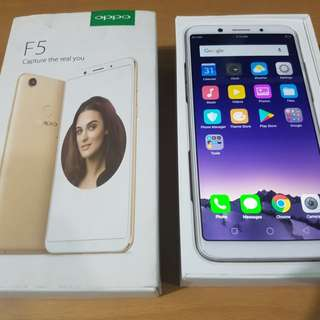 Oppo F5 Selfie Phone 32GB 4GB ram Gold Complete With Receipt 4G LTE