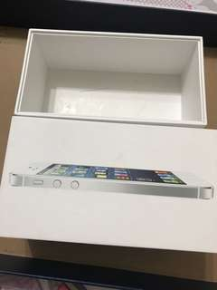 iPhone 5 box  盒