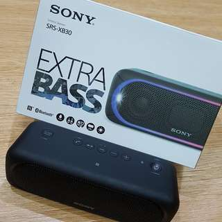 Sony wireless speaker xb30