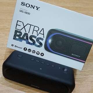 Portable Sony wireless speaker xb30