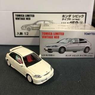 Tomica Limited Vintage Honda TypeR Civic EK9 本田