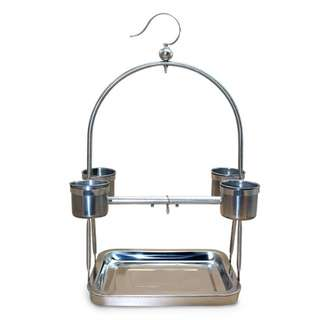 Stainless Steel Parrot Stand