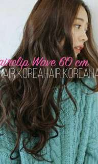 $17 each only untill 20th march! Hair clip extension big layer in straight / wavy/ curly / midlength