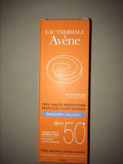Brand New Avène Emulsion Sunscreen