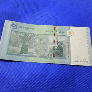 Currency RM50.00