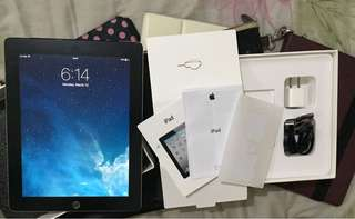 iPad 2 64GB WiFi and Cellular (SIM slot openline) with box and freebies