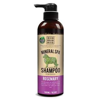RELIQ DOG MINERAL SPA SHAMPOO ROSEMARY 500ml