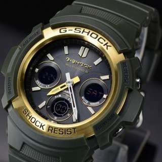Casio G-SHOCK AWG-M100A-3AJF 六局電波接收 非Seiko Rolex Citizen