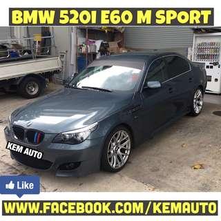 "Modded Loud BMW 520I E60 M5 bodykit with Exhuast 19"" rims BremBo BBK"
