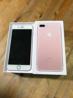 Selling iPhone 7 Plus (256GB) Rose Gold