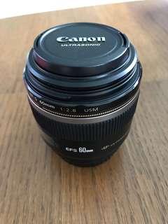 FS Canon EF60mm 2.8 Macro Lens