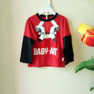 Baju Karakter Stelan Anak ( Ant Baby )