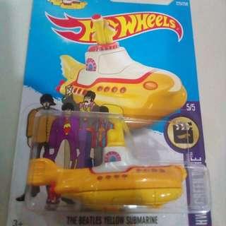 Hot wheels the Beatles submarine