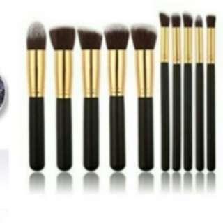 Kabuki Brush 10 pcs.