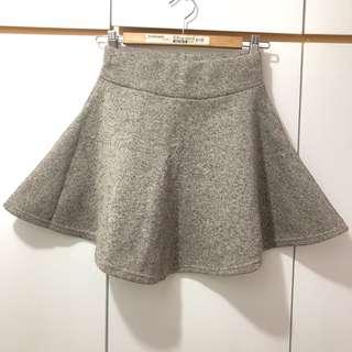 大地色系百搭短裙 Korea Skirt