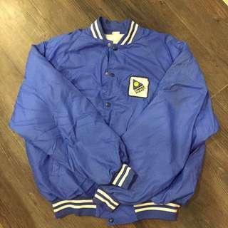 vintage 古著 鋪棉外套 教練外套 棒球外套 運動 休閒 復古 寬鬆