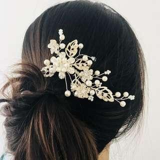 flash sale - bridal hair comb