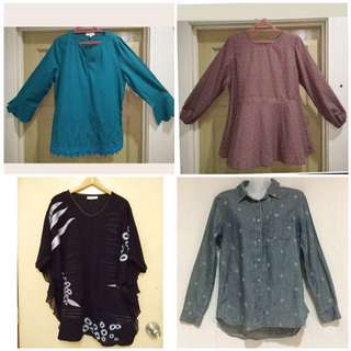 Preloved Tops #Bajet20