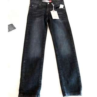 slouch coupe bouffante jeans