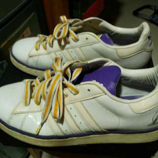 Adidas NBA Couple Shoes - Los Angeles Lakers 洛杉磯湖人休閒鞋